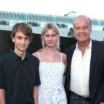 Kelsey Grammer with his daughter Mason Olivia Grammer and son Jude Gordon Grammer
