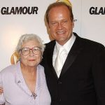 Kelsey Grammer with his mother Sally Grammer