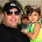 Kevin James with his daughter Sistine Sabella James
