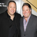 Kevin James with his father Joseph Valentine Knipfing Jr.