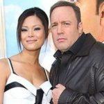 Kevin James with his girlfriend Steffiana de la Cruz