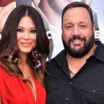 Kevin James with his wife Steffiana de la Cruz