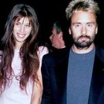 Luc Besson with his ex-wife Maïween