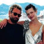 Luc Besson with his ex-wife Milla Jovovich