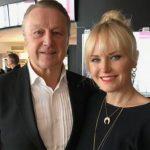 Malin Åkerman with her father Magnus Åkerman