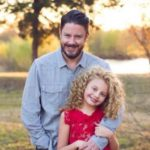 Mallory James Mahoney with her father Michael Mahoney