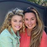 Mallory James Mahoney with her mother Natalie Griffin Mahoney