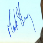 Mark Strong Signature