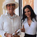 Martha Higareda with his mother Martha Cervantes