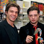 Matthew Lawrence with his brother Andrew Lawrence