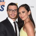 Matthew Lawrence with his wife Cheryl Burke