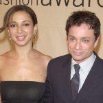Maya Rudolph with her ex-boyfriend Chris Kattan