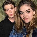 McKaley Miller with her boyfriend Evan Hofer