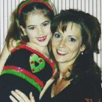 McKaley Miller with her mother Griffins Miller