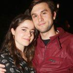 Molly Gordon with her boyfriend Nick Lieberman