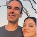 Natalia Reyes with her boyfriend Juan Pedro San Segundo