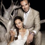 Natalia Reyes with her husband Juan Pedro San Segundo