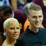 Richard Colson Baker with his ex-girlfriend Amber Rose