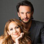 Rodrigo Santoro with his ex-girlfriend Jennifer Lopez