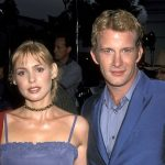 Thomas Jane with his ex-girlfriend Olivia d'Abo