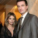 Tomasz Kot with his wife Agnieszka Olczyk