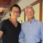 will yun lee with his father Soo Wong Lee