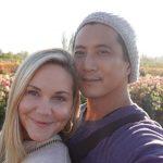 will yun lee with his girlfriend Jennifer Birmingham