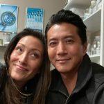 will yun lee with his sister Christina Chang