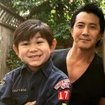 will yun lee with his son Cash Yun Lee