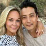 will yun lee with his wife Jennifer Birmingham
