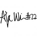 A'ja Wilson signature