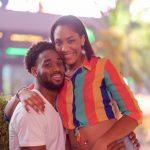 A'ja Wilson with her boyfriend Josh Cunningham