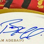 Bam Adebayo signature