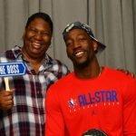 Bam Adebayo with his mother Marilyn Blount