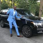 Bam Adebayo with his range Rover car