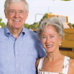 Charles Koch with his girlfriend Liz Koch