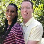 Foluke Akinradewo with her boyfriend Jonathan Gunderson