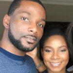 Genevieve Nnaji with her brother Stephen Nnaji