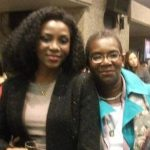 Genevieve Nnaji with her mother Benedatte Nnaji