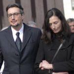 Giovanni Ferrero with his wife Paola Rossi
