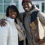 Jerami Grant with his mother Beverly Grant