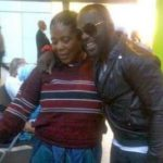 Jim Lyke with his mother Ngozi Gladys Okelue Esomugha