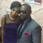 Jim Lyke with his sister Natasha Esomugha