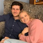 Katie Nageotte with her boyfriend Hugo Moon