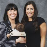 Kelsey Plum with her sister Kaitlyn Plum