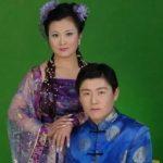 Ma Huateng with his wife Wang Danting