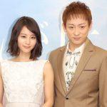 Maki Horikita with her husband Koji Yamamoto