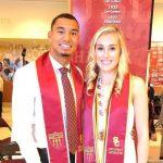 Michael Norman with his girlfriend Jenna Adams