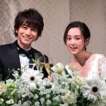 Mirei Kiritani with her husband Shohei Miura