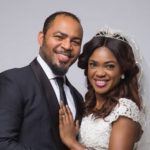 Ramsey Nouah with his wife Emelia Philips-Nouah